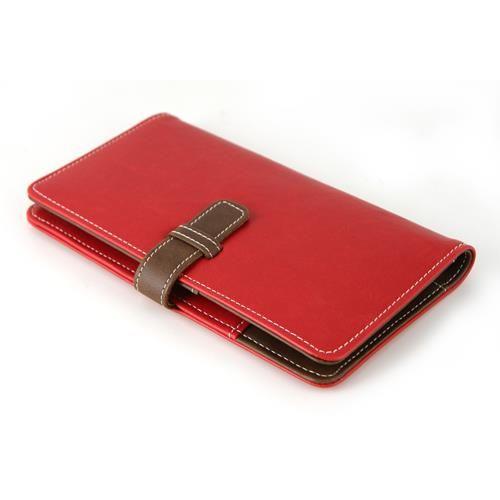 PORTA PASSAPORTO TRILLY ROSSO  -   Porta passaporto Trilly colore esterno rosso.