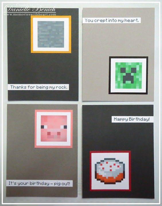 Minecraft Invitation Minecraft Birthday by DesignsByMason ...