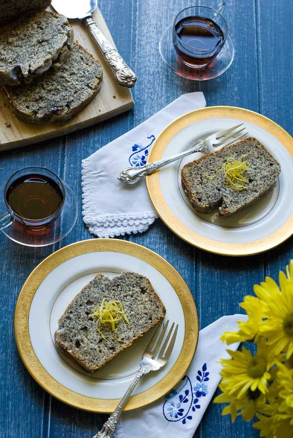 Gluten Free Lemon Poppy Seed Quick Bread. Love that it uses brown rice ...