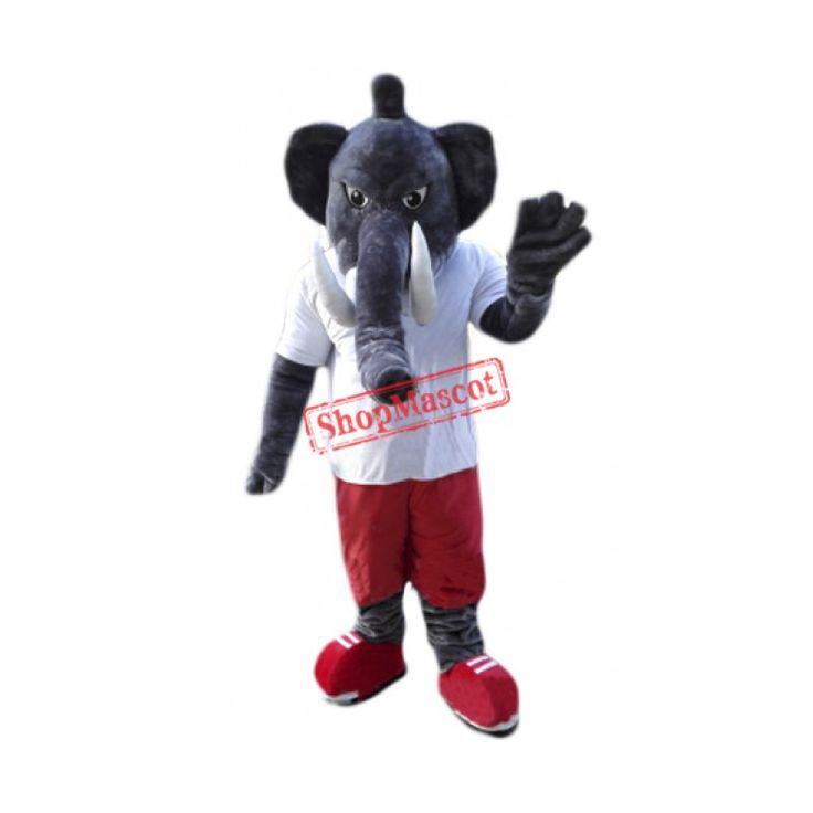 Power Elephant Mascot Costume