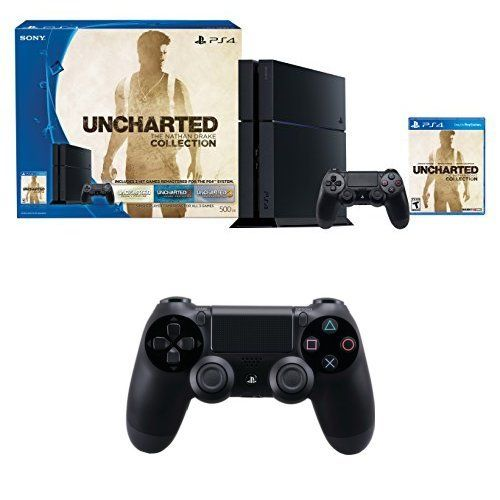 PlayStation 4 500GB Console – Uncharted: The Nathan Drake Collection Bundle with DualShock 4 Controller  http://gamegearbuzz.com/playstation-4-500gb-console-uncharted-the-nathan-drake-collection-bundle-with-dualshock-4-controller-2/