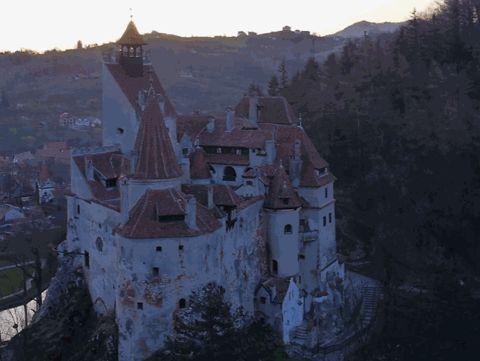 Bran Castle #brancastle https://www.discoveringtransylvania.ro/castles/bran-castle/ #castles