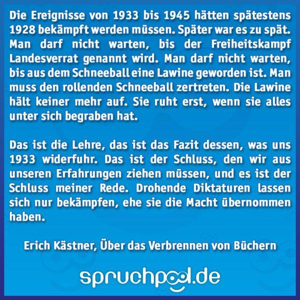 Erich Kastner Uber Das Verbrennen Von Buchern Erich Kastner Gedichte Erich Kastner Erich Kastner Zitate