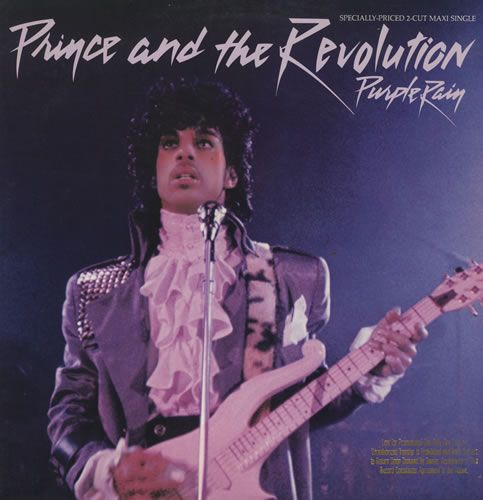 Prince! Watched Purple Rain over the weekend for the first time in ages, I've had this on a loop in my head for days.