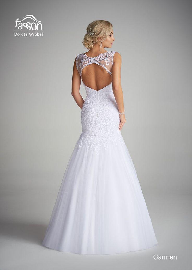 Carmen tył suknia ślubna