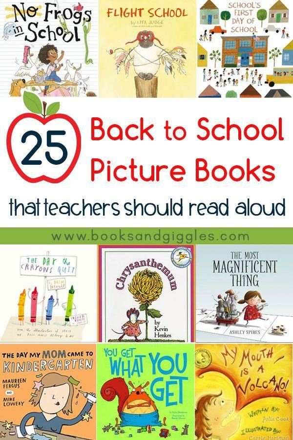 25 Back To School Books Teachers Should Read Aloud Adventure
