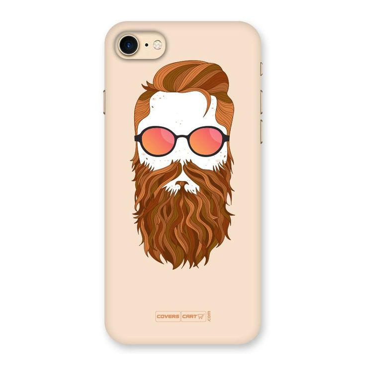Man in Beard Back Case for iPhone 7 | Mobile Phone Covers & Cases in India Online at CoversCart.com