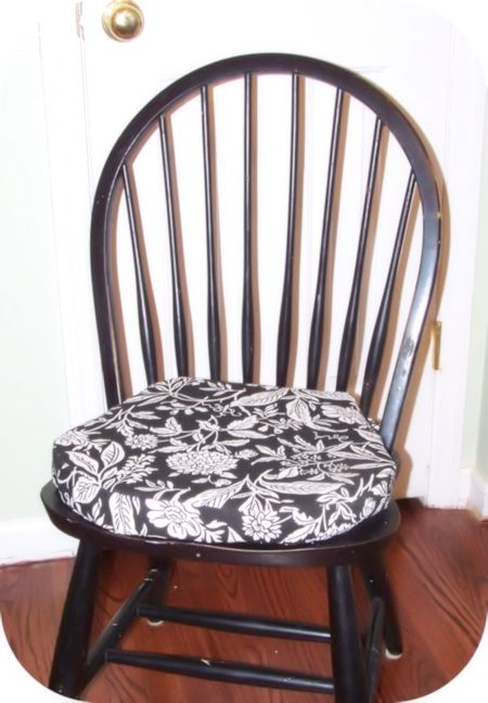 HomeSpun Threads DIY Chair Cushions Same Chairs As Mine Better Diy Dining Room