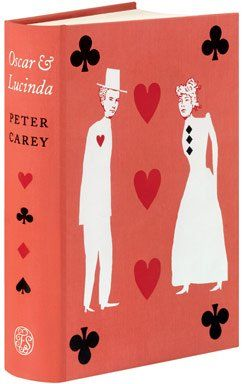 The Folio Society's Oscar and Lucinda by Peter Carey Introduced by Peter Kemp & Illustrated by Katherine Streeter