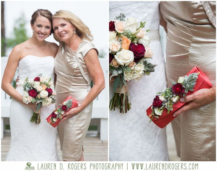 corsage alternative for mother of the bride, floral purse, flowers on clutch, wedding clutch, wedding purse, coral clutch, wedding flowers  celebrations at the reservoir wedding photos by Lauren D Rogers Photography