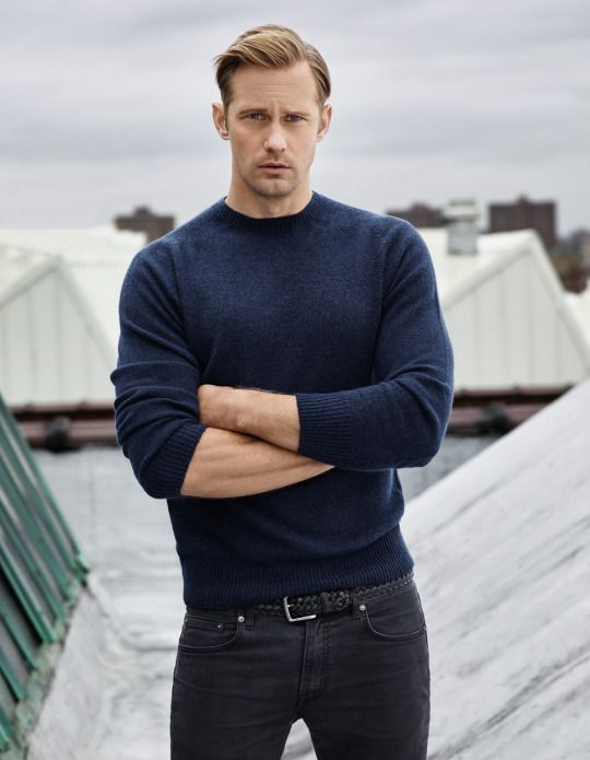 Alexander Skarsgard for Men's Health UK