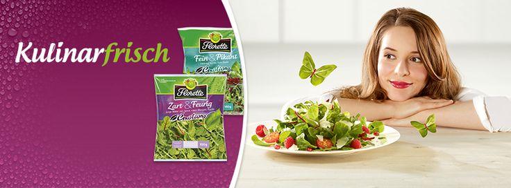 #Kulinarfrisch - Bereits früh im Morgengrauen ernten wir für Euch unsere besten Salate, denn so kommen sie noch frischer auf Euren Tisch. Geschnitten, sorgfältig gewaschen, verzehrfertig verpackt – eine außerordentliche Qualität, die man sieht und schmeckt.