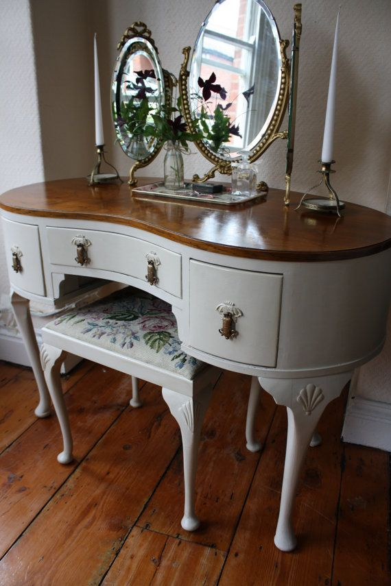 I Cant Resist Vintage Dressing Tables   Especially When They Have  Individuality Too. I Chose This One Because It Has A Really Curvacious  Shape With ...