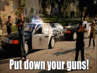 LAPD these days.