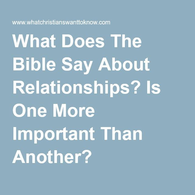 Relationship Goals - Our relationships with others get stronger when we strengthen our relationship with God.