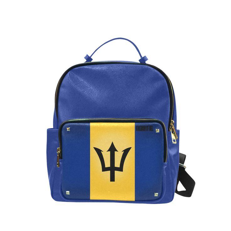 Barbados Flag Campus backpack/Large