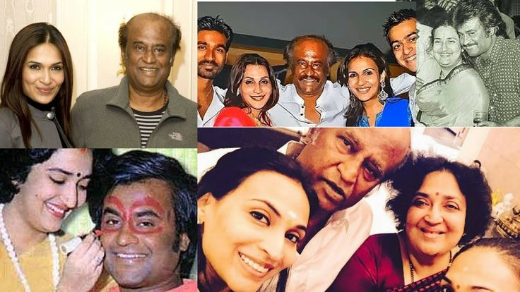 Rajinikanth Family 25+ best ideas about A...
