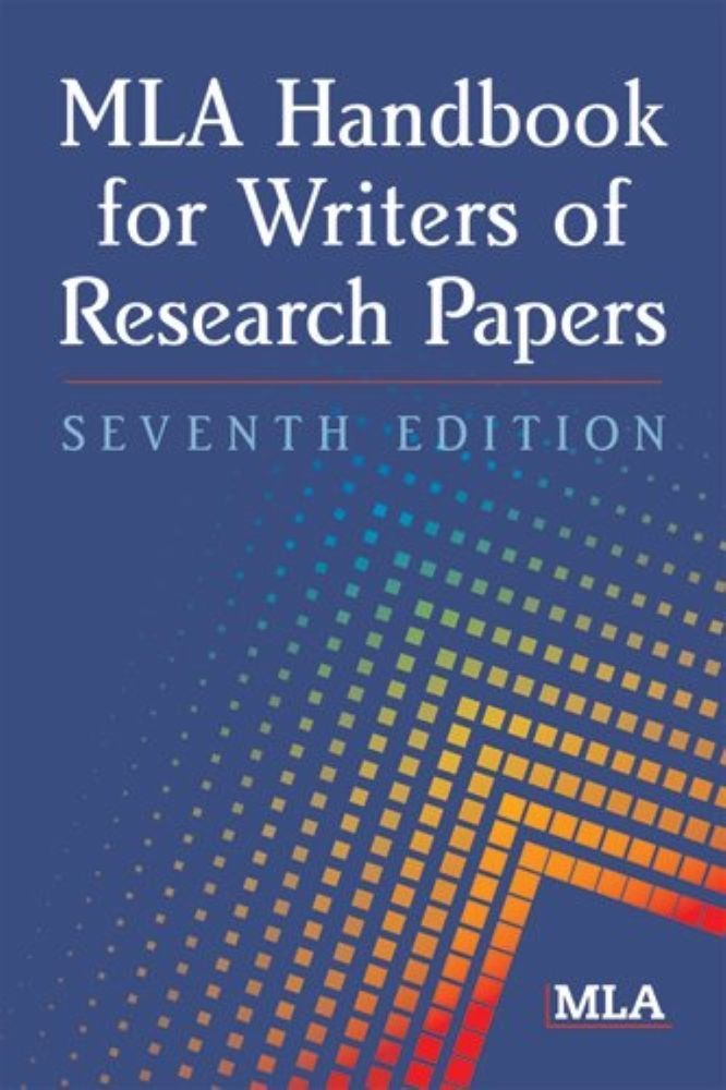 best mla handbook ideas text structure examples  mla handbook for writers of research papers 7th edition