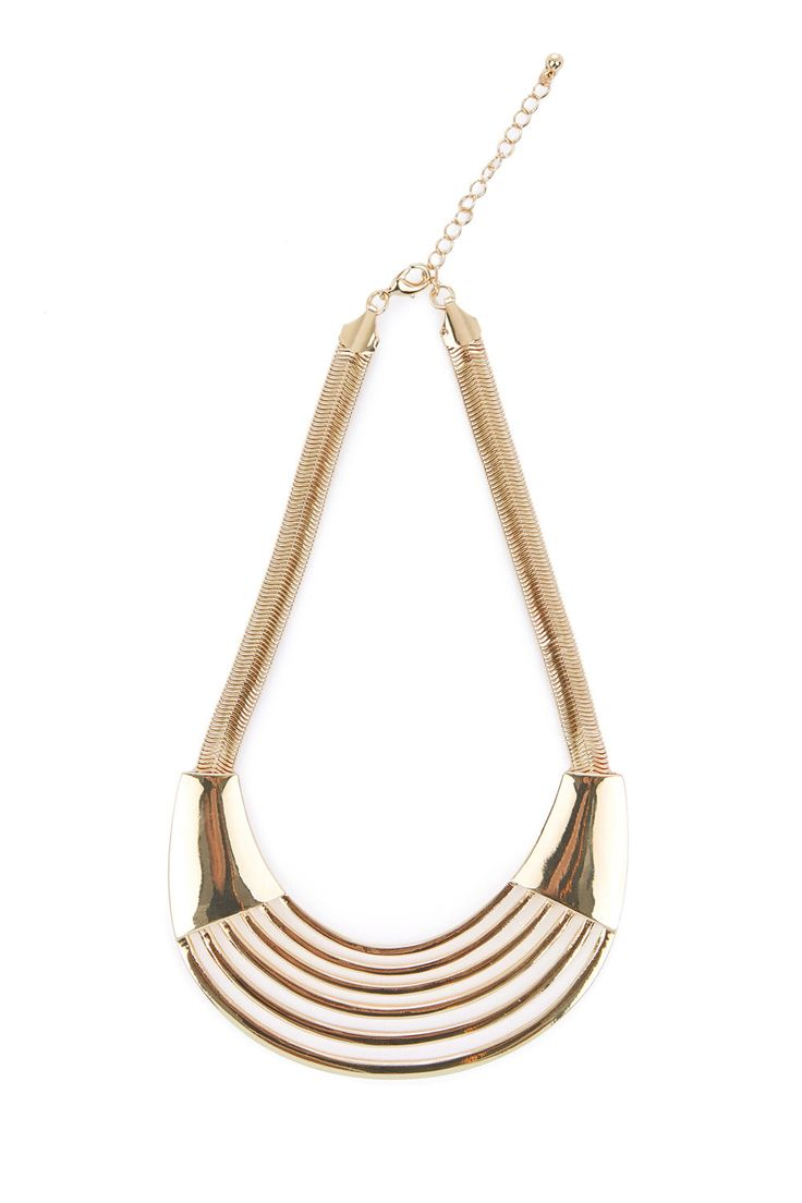 STATEMENT PLATE NECKLACE