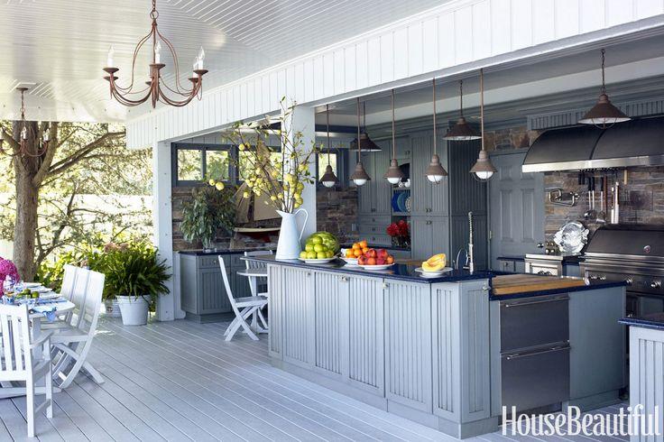 Harpers Bazaar.com:  Outdoor Kitchen