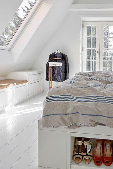 Das Schlafzimmer mit kreativer Raumnutzung