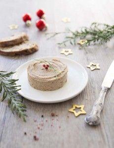 Terrine végétale aux cèpes (substitut au foie gras)