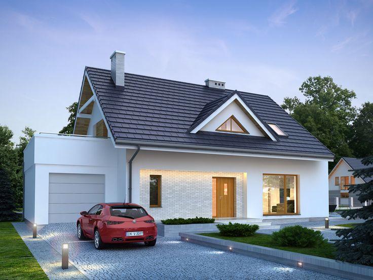 Projekt domu TP Medea 3 - DOM TP1-12 - gotowy projekt domu