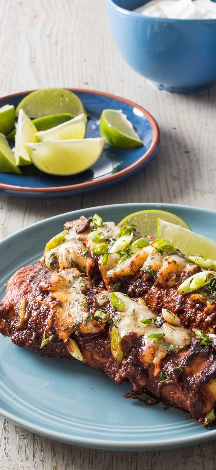 Ground Beef and Cheese Enchiladas. We use techniques from both sides of the border produce a quicker—but still deeply flavorful—take on this Tex-Mex staple.
