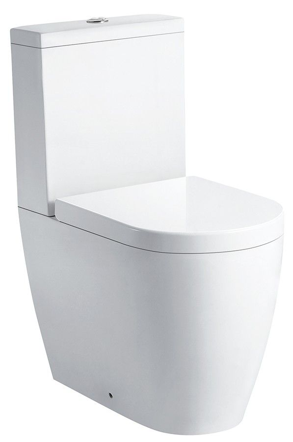 VOGUE Zeto Toilet Suite * P Pan * Vitreous China * 4 Stars Wels