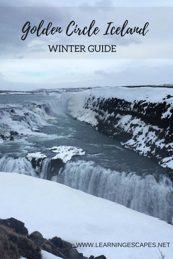 Golden Circle Iceland winter guide: what you need to know to plan the perfect Golden Circle Day trip in winter #iceland #travel #itienerary #goldencircle