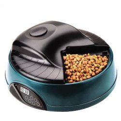 Programmable food dish will be your pet's best friend. Jorge