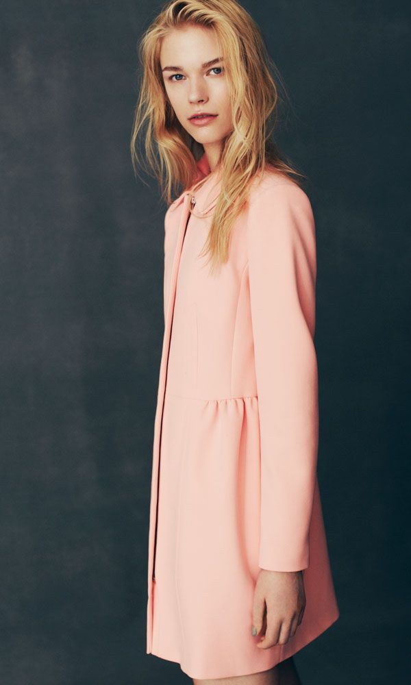 Primark light pink coat - Primark Autumn Winter 2013 | InStyle