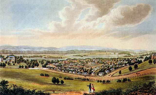 Parramatta fom May's Hill 1824