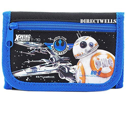Disney Star Wars Robot Character Authentic Licensed Trifold Wallet //Price: $6.75 & FREE Shipping //     #starwarslife