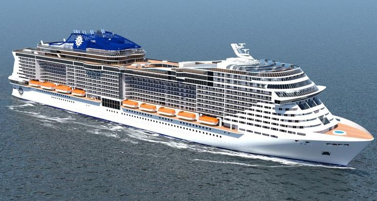 Newest Cruise Ships 2016-2023 Construction Orders