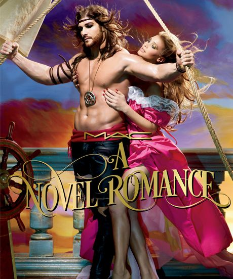 This Is How MAC Does A Romance Novel #refinery29  http://www.refinery29.com/mac-novel-romance-makeup-collection-fall-2014