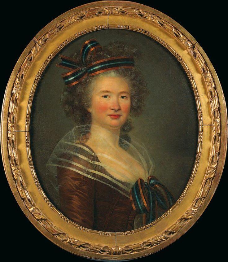 Marie-Gabrielle Capet, Portrait of a Woman, ca. 1785, oil on canvas, 63 x 57 cm