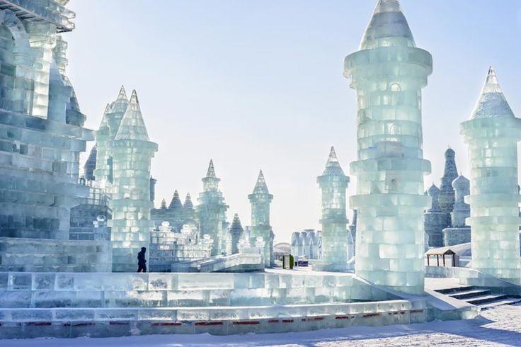 Ice Lantern Festival in Harbin