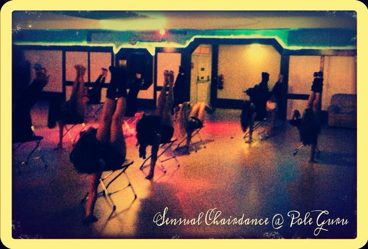 Sensual Chairdance  @ Pole Dance Studio Pole Guru