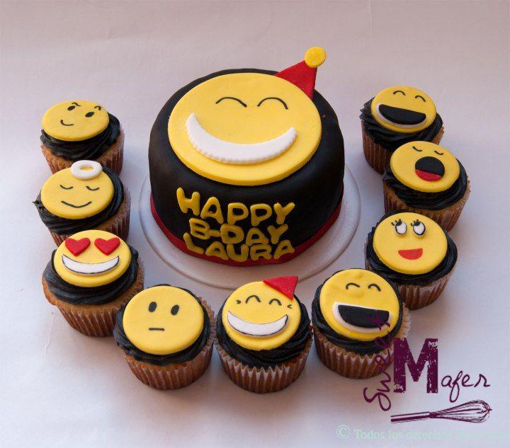 torta-y-cups-emoticones