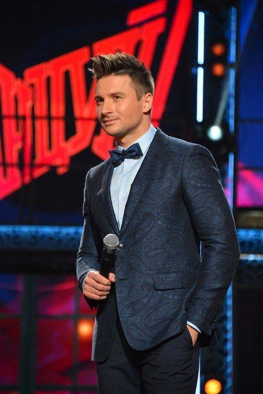 Sergey Lazarev host  russian tv show