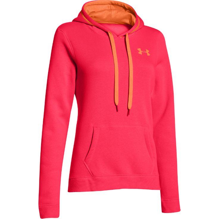 Neon under armour hoodies