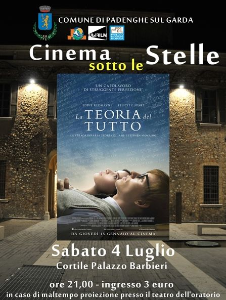 Cinema Sotto le Stelle a Padenghe http://www.panesalamina.com/2015/38007-cinema-sotto-le-stelle-a-padenghe.html