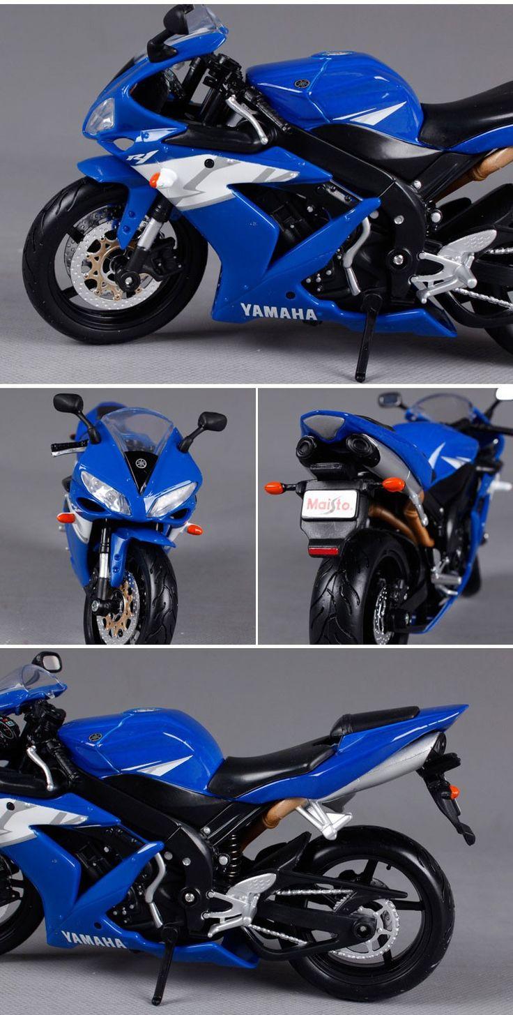 Maisto Yamaha YZF R1 1:12 S Metal Diecast Models Motorcycle Car Alloy – toutabay
