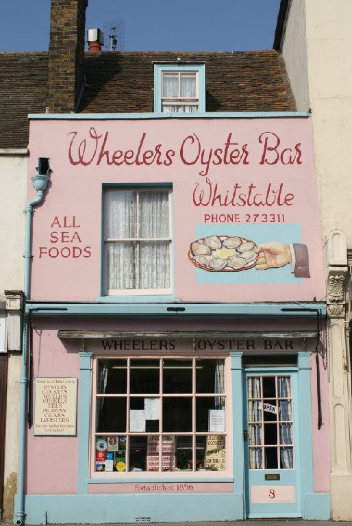 Wheelers Oyster Bar dates back to 1856 and is not only an amazing fish restaurant but also has delicious homemade fayre to take away (8 High Street, Whitstable, Kent).