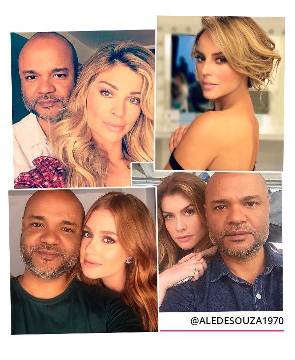 beauty artist das famosas brasileiras - ale de souza