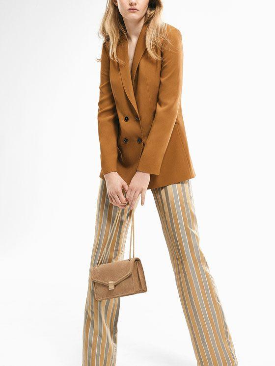 Pantalones de mujer de primavera 2017   Massimo Dutti