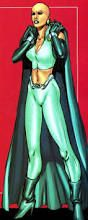 Moondragon, also known once as Heather Douglas, is a powerful telepath and master martial artist. If the name rings a bell, that's because you should know her father by now: Arthur Douglas, a.k.a. Drax the Destroyer. While she was thought to be killed by Ronan the Accuser, it was actually her father who was initially killed her.