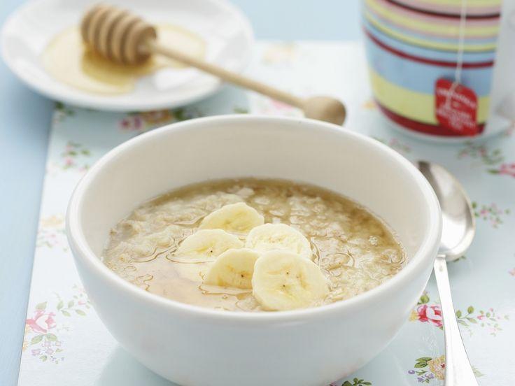 Haferbrei mit Banane und Honig - smarter - Zeit: 20 Min. | eatsmarter.de