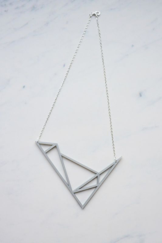 Via Wolk 3D | Graphic Minimal 3D Printed Jewelry